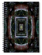Pacific Madrone Mandala Yantra Spiral Notebook