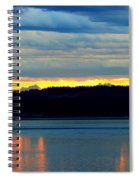 Pacific Northwest Morning Spiral Notebook