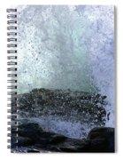 Pacific Ocean Wave Splash Spiral Notebook