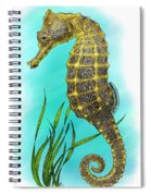 Pacific Seahorse Spiral Notebook