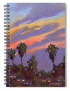 Pacific Sunset 1 Spiral Notebook