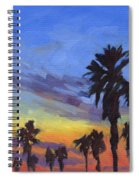 Pacific Sunset 2 Spiral Notebook