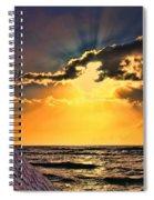 Pacific Sunset By Diana Sainz Spiral Notebook