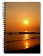 Pacific Sunset Reflection Spiral Notebook
