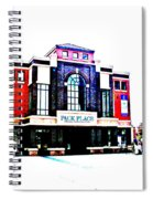 Pack Place Asheville In High Contrast Spiral Notebook