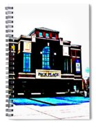 Pack Place In High Contrast Spiral Notebook