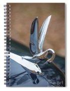 Packard Hood Ornament Spiral Notebook