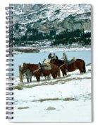 Packing Up Spiral Notebook