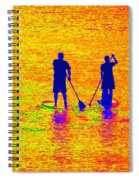 Paddle Board Paradise Spiral Notebook