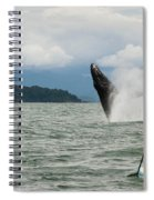 Paddle Boarders And Humpback Whale Spiral Notebook