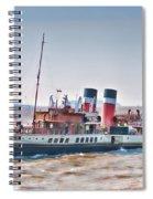 Paddle Steamer Waverley Spiral Notebook
