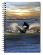 Natutical Jesus Spiral Notebook