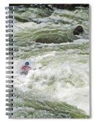 Paddling Spiral Notebook