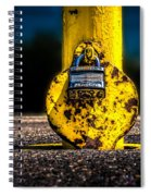 Padlock Number Two Spiral Notebook