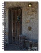 Padlocked Spiral Notebook