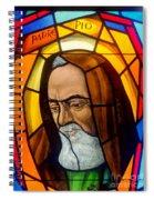 Padre Pio Spiral Notebook
