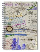 Page From The Madwoman's Notebook Spiral Notebook