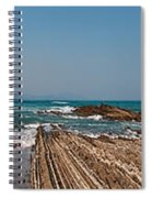 Pages Into The Sea No1 Spiral Notebook
