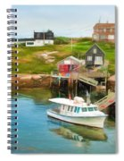 Peggy's Cove Boat Tours Spiral Notebook