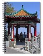 Pagoda Pavilion Spiral Notebook