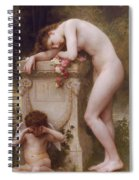 Pain Of Love Spiral Notebook