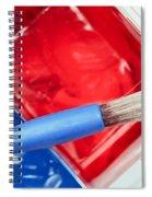 Paint Brush Spiral Notebook