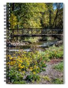 Paint Creek Bridge Spiral Notebook