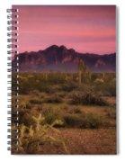 Paint It Pink Sunset  Spiral Notebook
