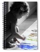 Paint Magic Spiral Notebook