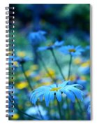 Paint Me Blue Spiral Notebook
