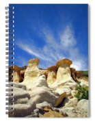 Paint Mines Beauty Three Spiral Notebook