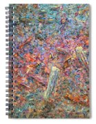 Paint Number 37 Spiral Notebook