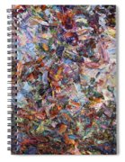 Paint Number 42 Spiral Notebook