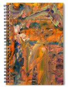 Paint Number 45 Spiral Notebook