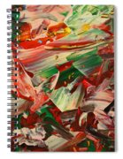Paint Number 48 Spiral Notebook