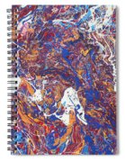 Paint Number Five Spiral Notebook