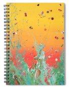 Paint Number Ninteen Diptych Spiral Notebook