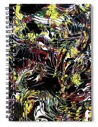 Paint Number Thirteen Spiral Notebook