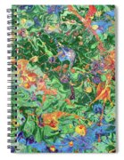 Paint Number Twenty Three Spiral Notebook