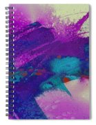 Paint Strokes Spiral Notebook