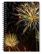 Paint The Sky With Fireworks  Spiral Notebook