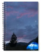 Paint The Sky With Stars Spiral Notebook