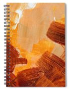 Painted Background Texture Spiral Notebook