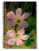 Painted Beauty Spiral Notebook