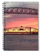 Painted Bridge Spiral Notebook