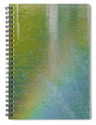 Painted By Water And Light Spiral Notebook