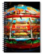 Painted Casino Spiral Notebook