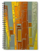 Painted City - Fantasy Cityscape Spiral Notebook
