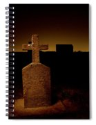 Painted Cross In Graveyard Spiral Notebook