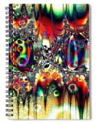 Carnival Dancers Spiral Notebook